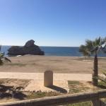 Playas de Málaga / Playa El Peñón del Cuervo / Málaga