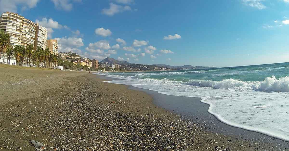 La Malagueta: Strand von Málaga