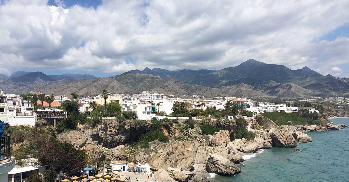 Andalusien Dörfer Nerja