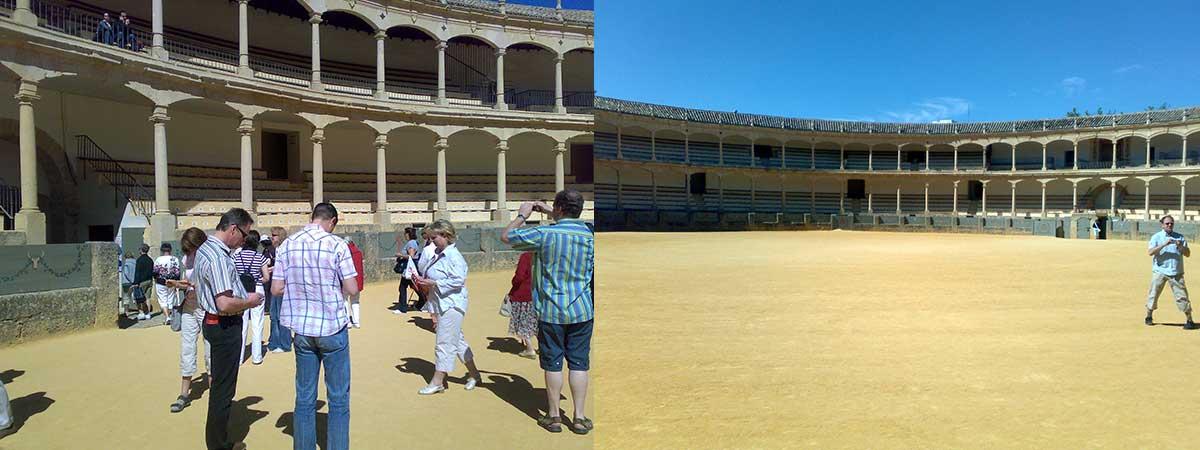 Ausflug nach Ronda: Stierkampfarena