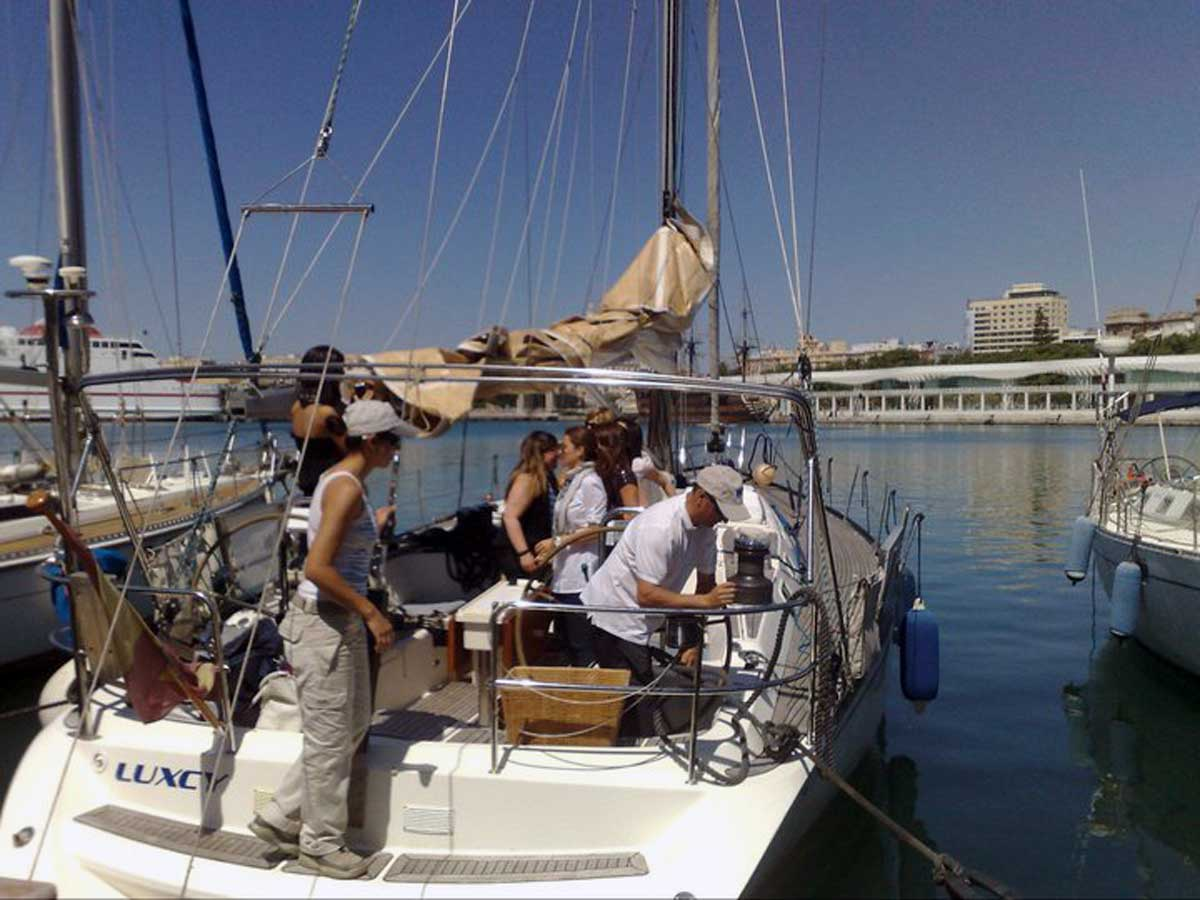 Segeln in Málaga