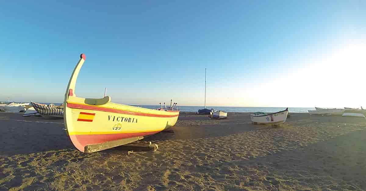 Strand Malaga Rincón de la Victoria