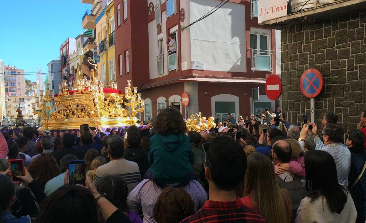 Cristo de los Gitanos Semana Santa Malaga