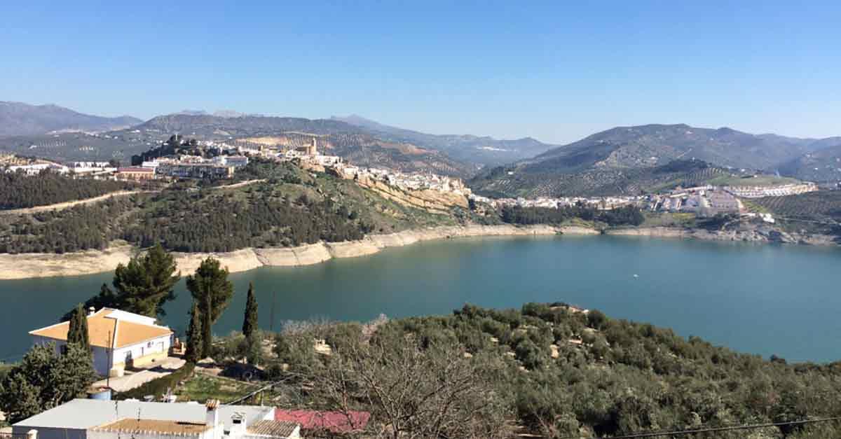 Stausee Andalusien: Iznájar