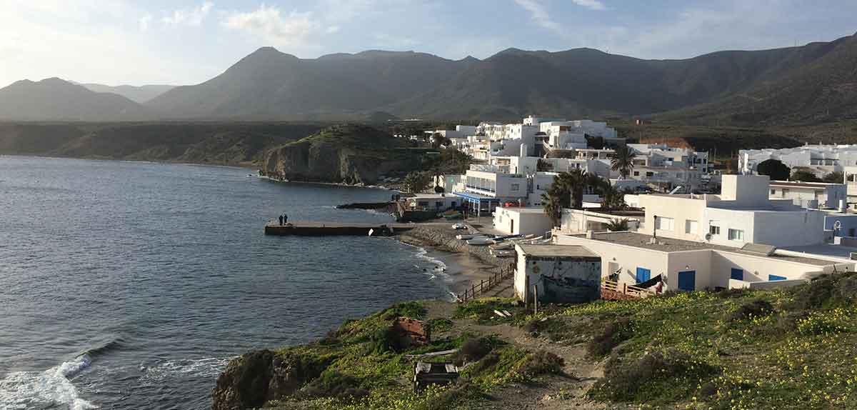 La Isleta del Moro in Cabo de Gata