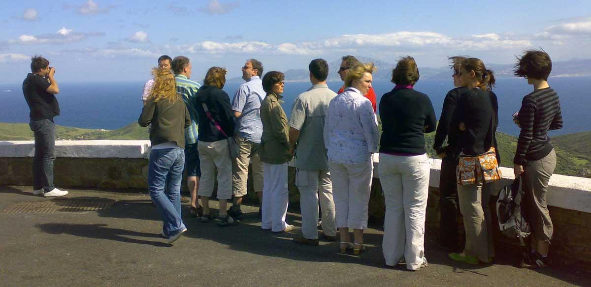 Ausflug Andalusien: Meerenge von Gibraltar