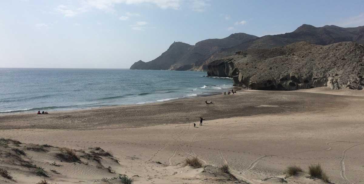 Playa El Monsul im Cabo de Gata