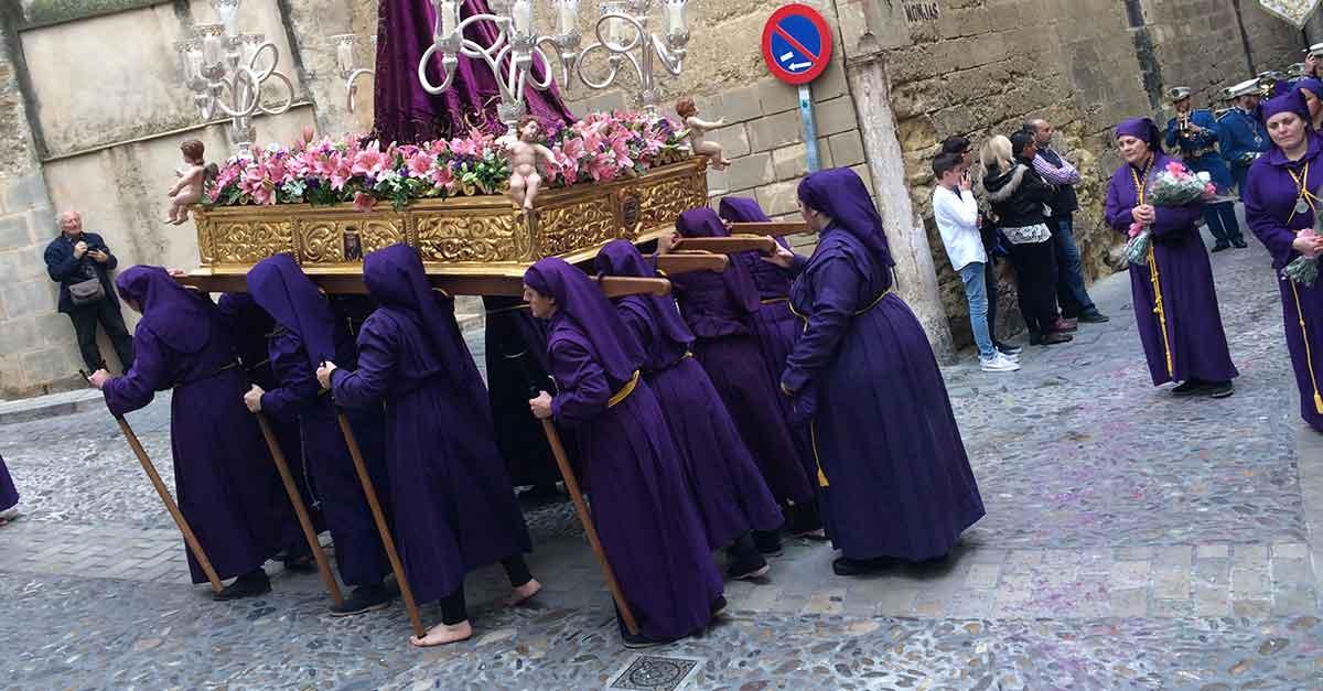 Prozession in Arcos de la Frontera.