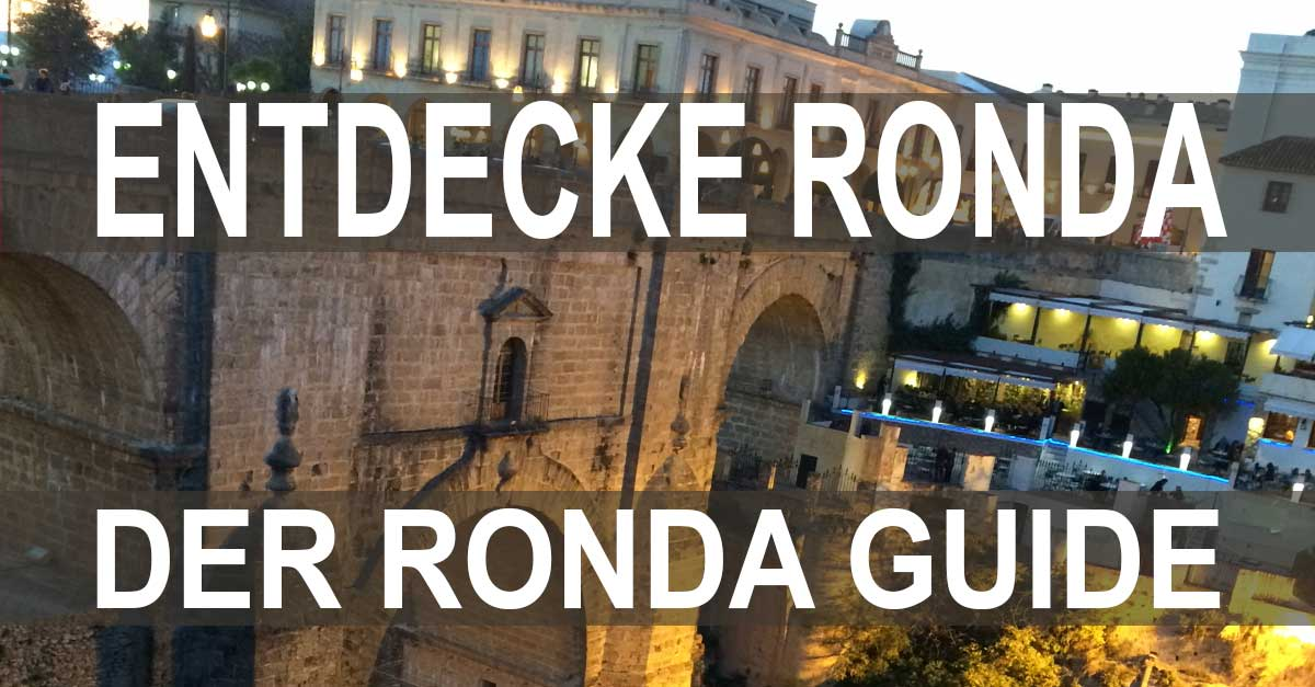 Ronda, Spanien, Andalusien, Malaga