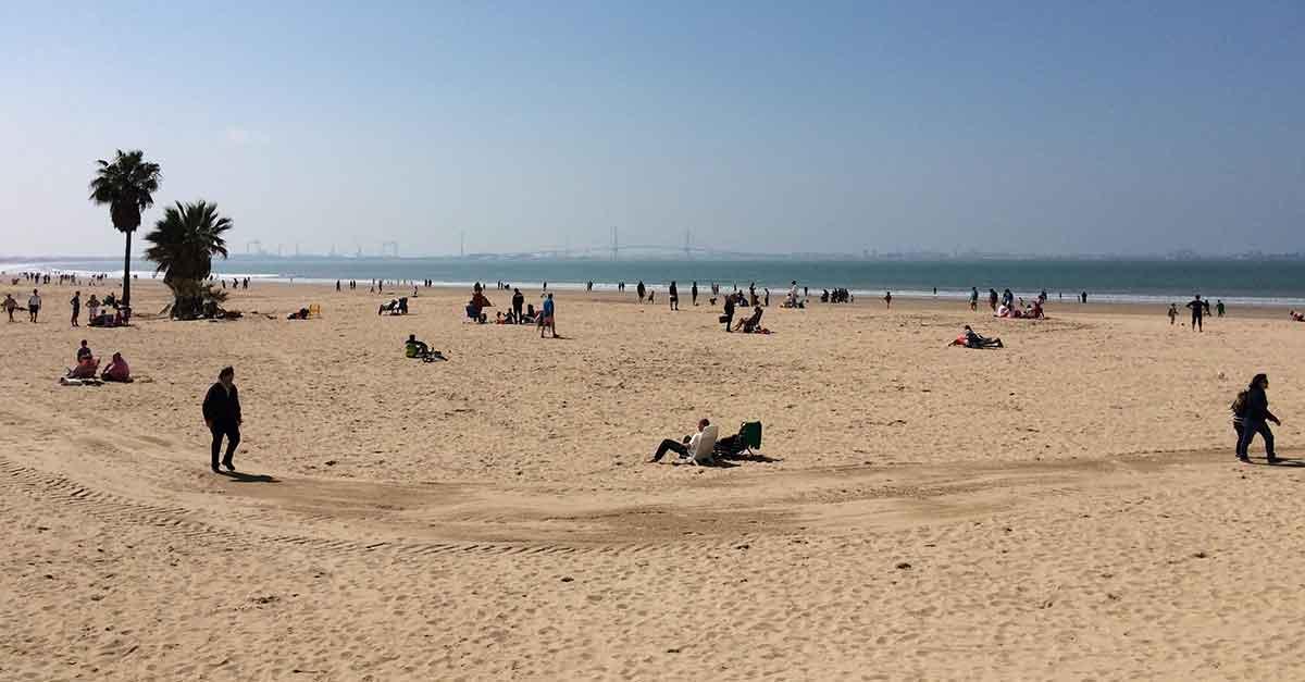 Strand von Valdelagrana / Cadiz