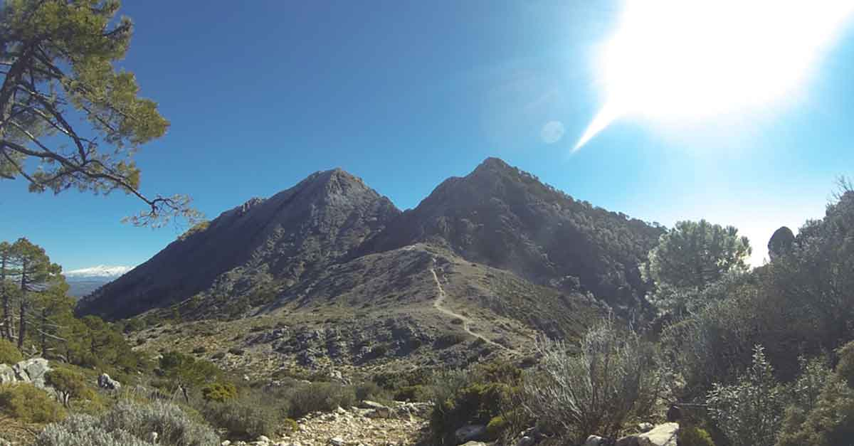 Wandern Andalusien / Pico Lucero