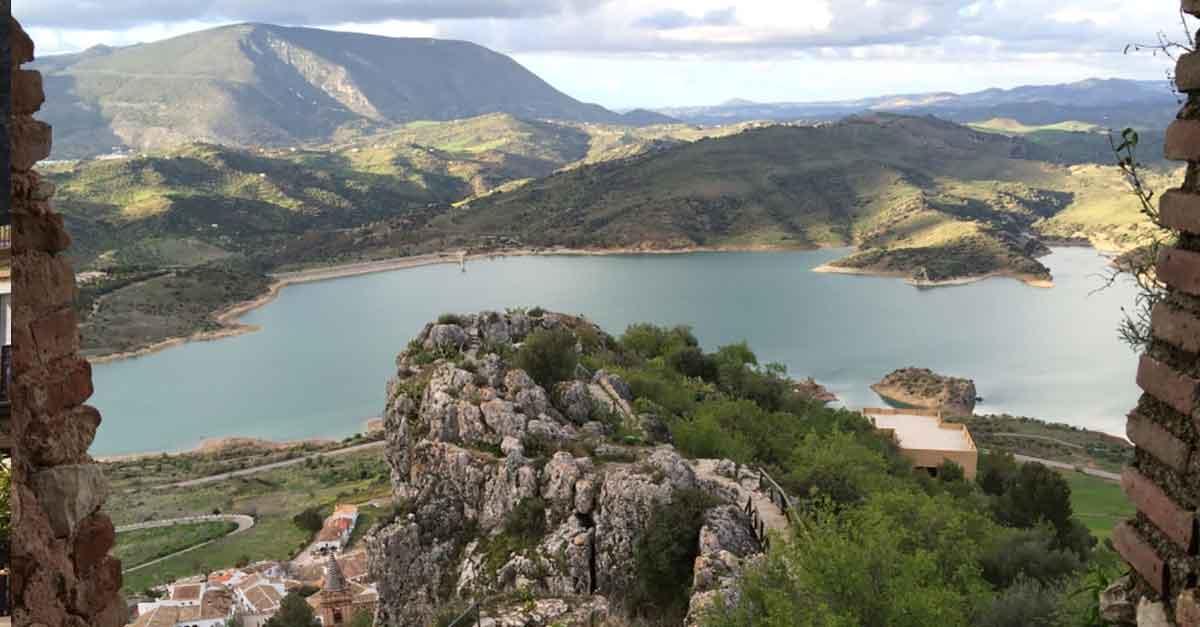 Zahara de las Sierra / Blick aus der Burg