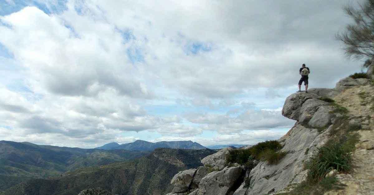Aufstieg zum Monte Huma El Chorro