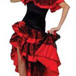 Flamenco Kleid für Frauen und Kinder