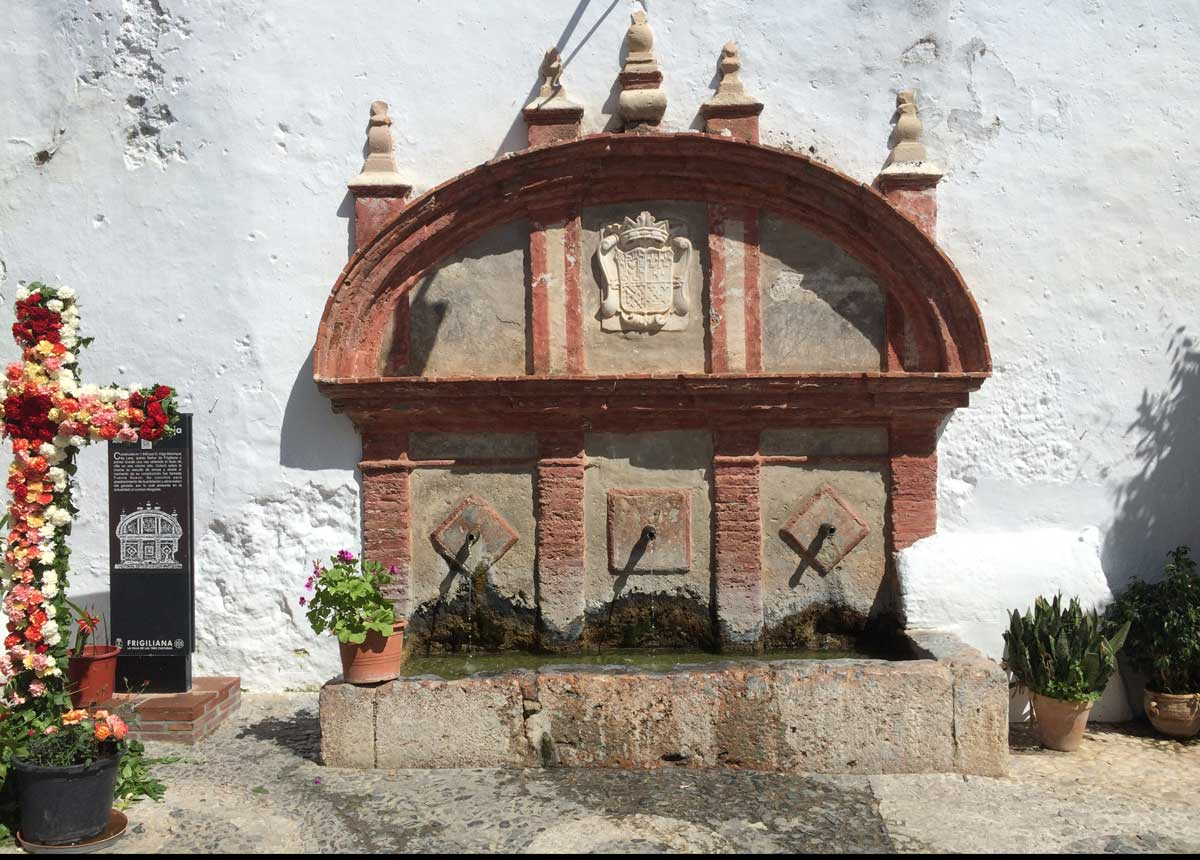 Fuente Vieja in Frigiliana