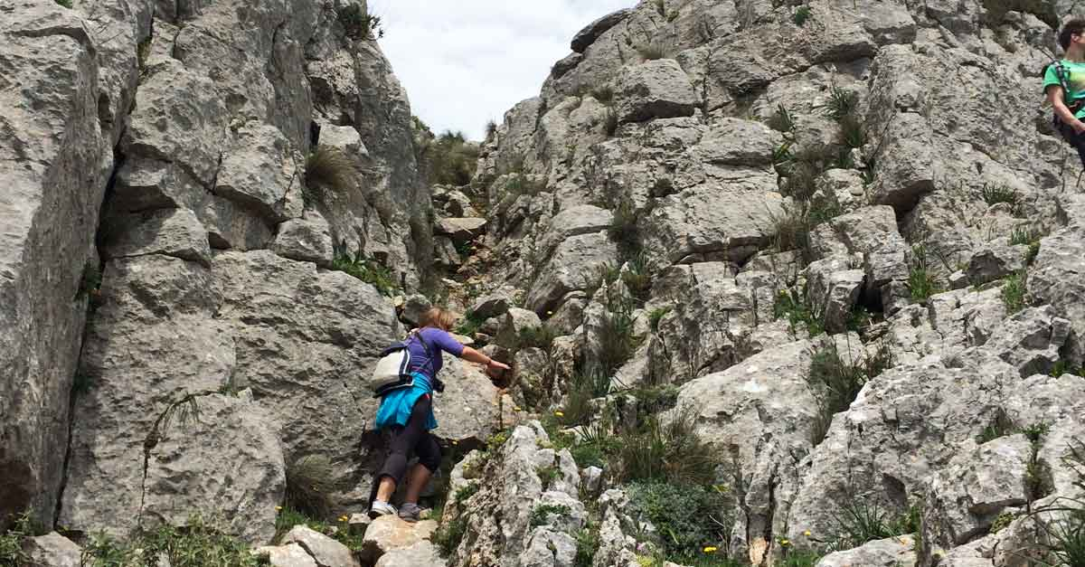 Klettern Monte Huma