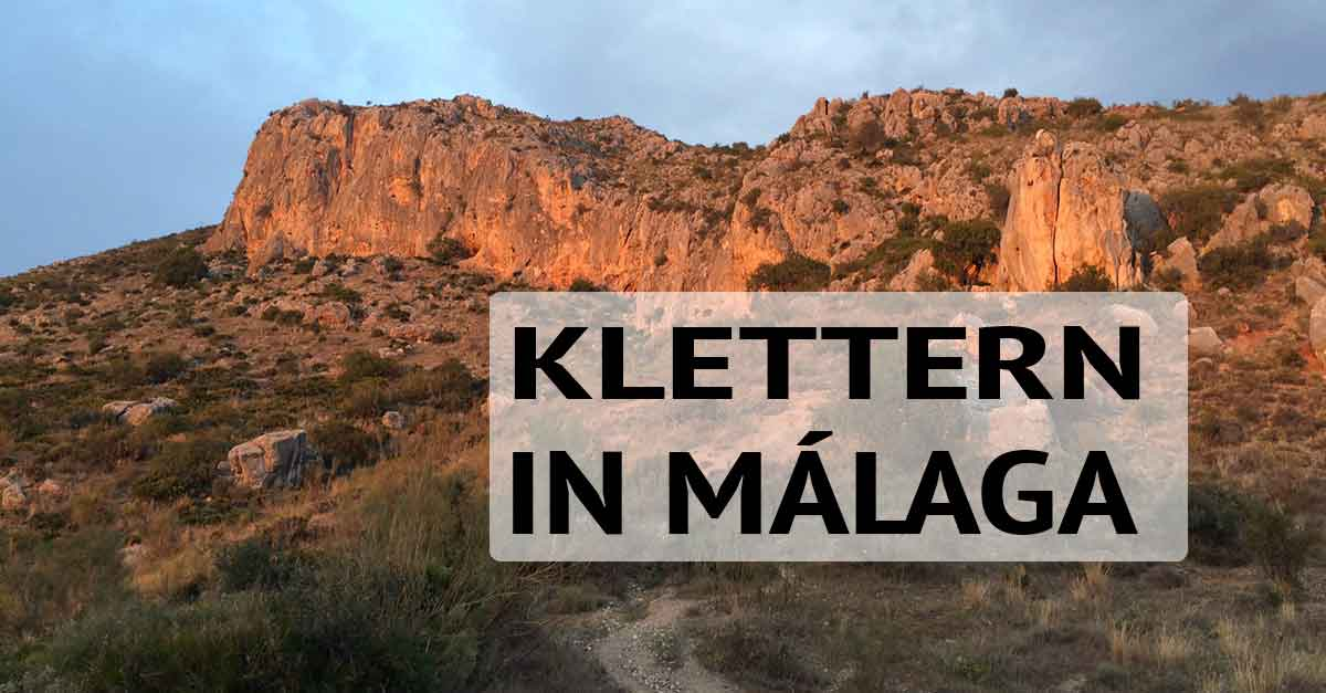 Málaga klettern: In den Pinares de San Anton / am Monte San Anton