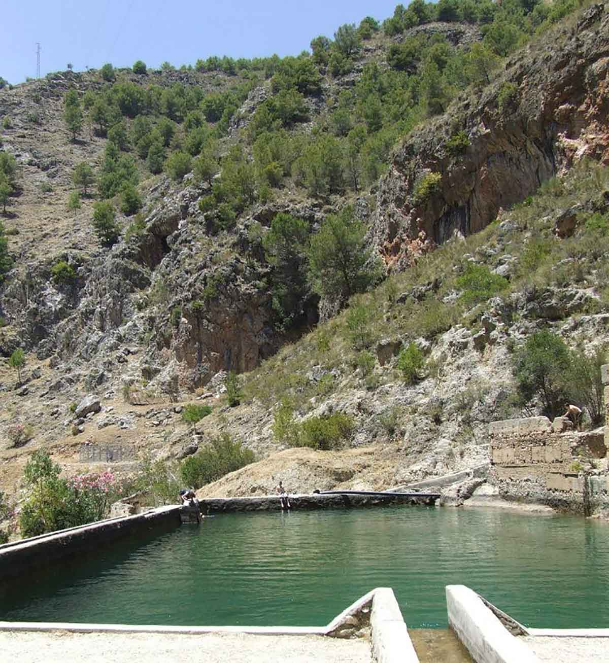 Rio Higueron in Frigiliana