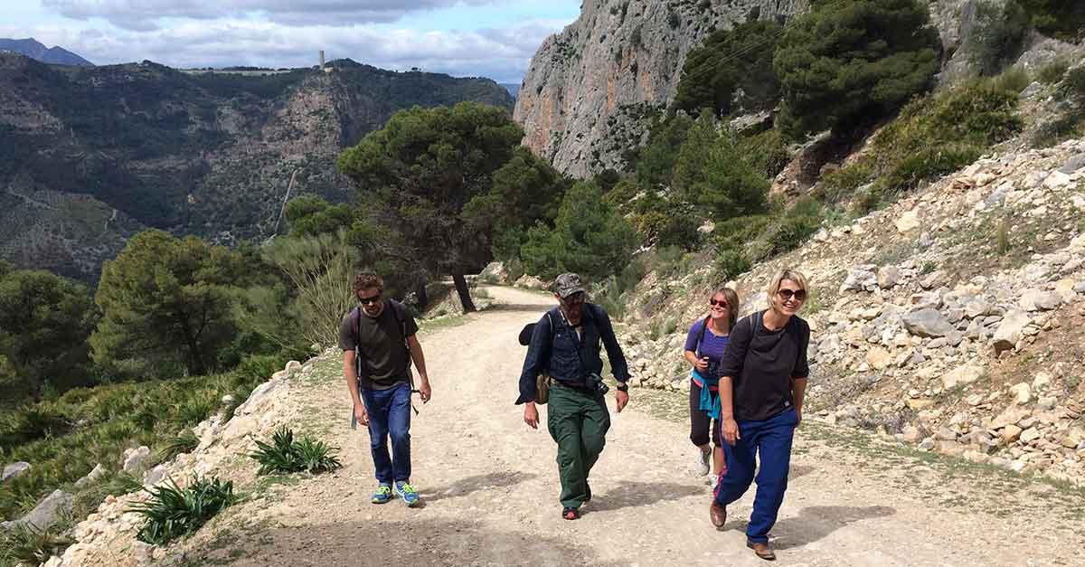 Wandern El Chorro Haza del Rio