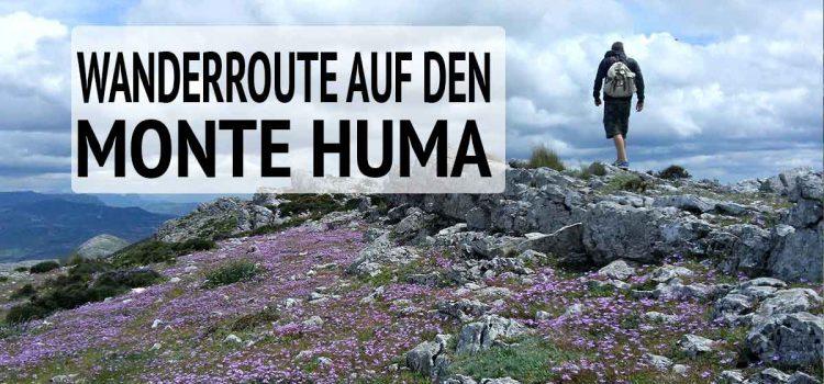 Wandern El Chorro Monte Huma