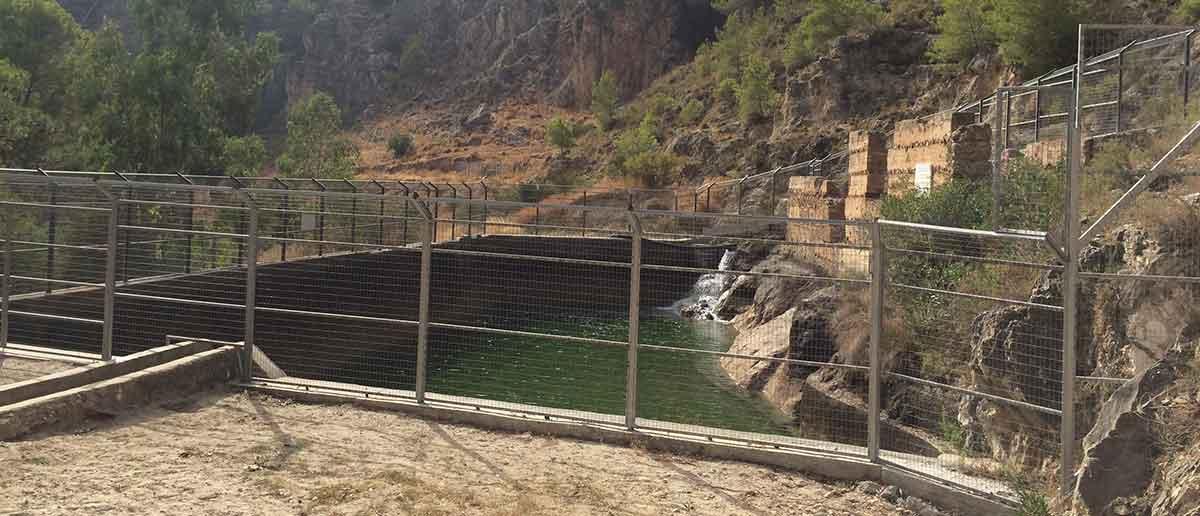 Pozo Batan in Frigiliana am Rio Higueron