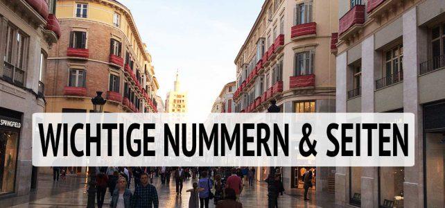Nützliche Links und Telefonnummern/ Links zu Museen und Veranstaltungen