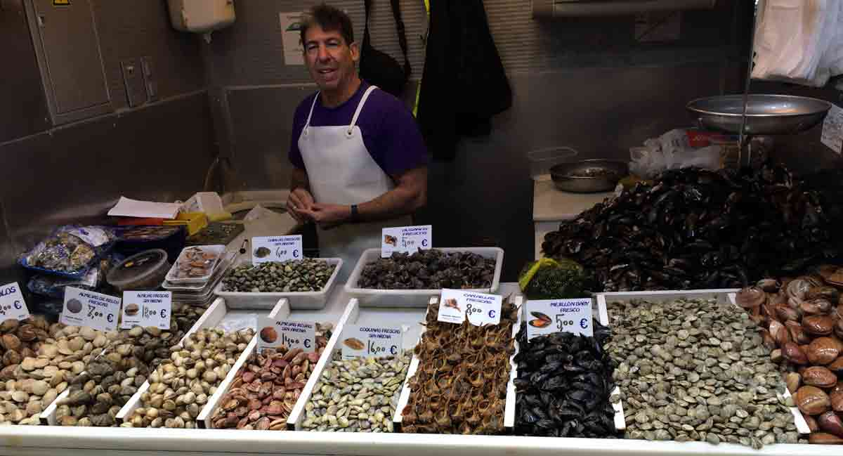 Fischmarkt Atarazanas Málaga