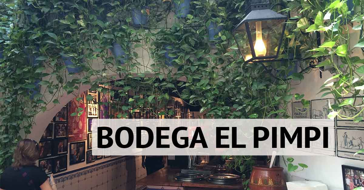 Bodega El Pimpi Málaga