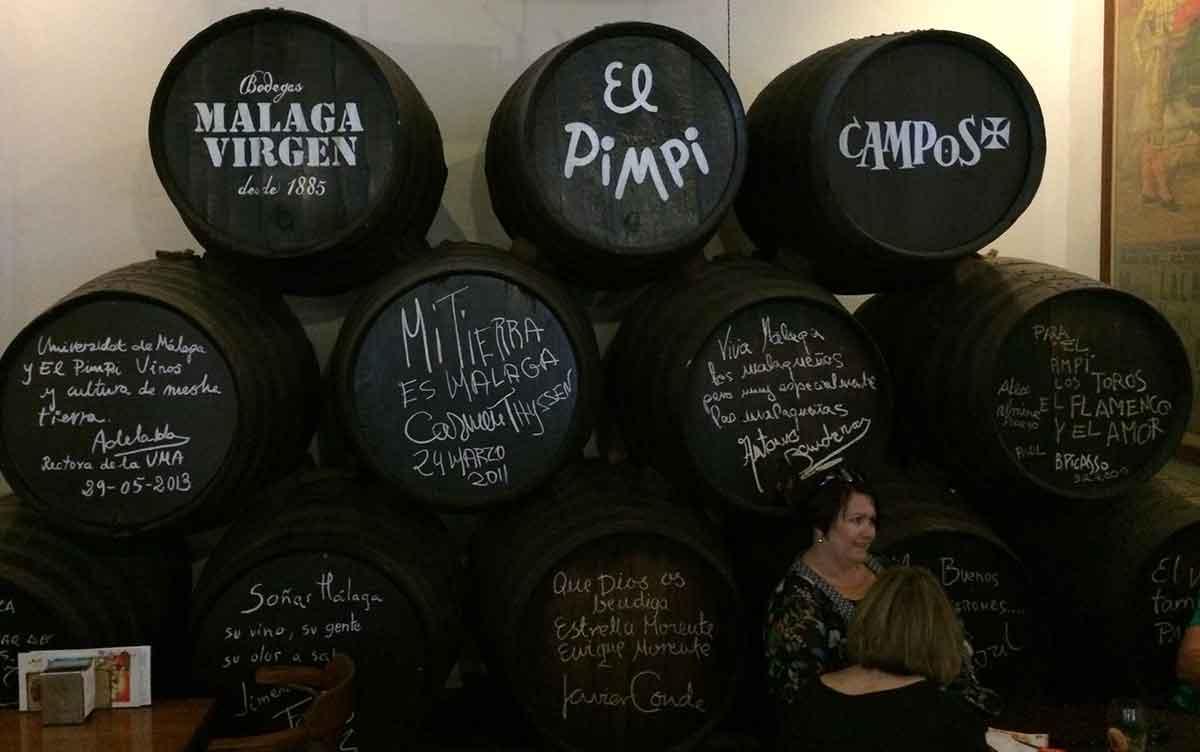 El Pimpi Bodega Málaga