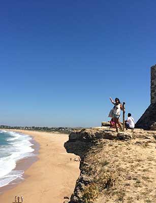 Aussichtspunkt am Leuchtturm von Kap Trafalgar