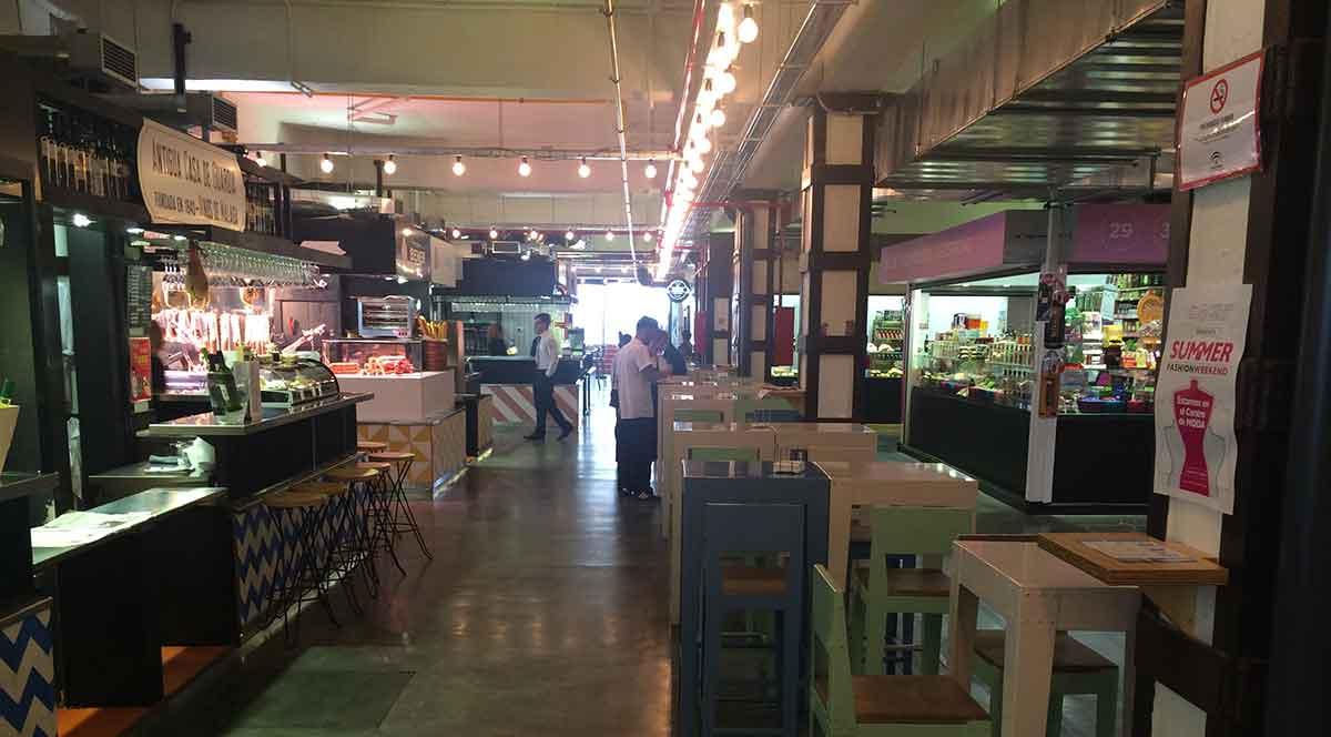 Mercado Merced von innen