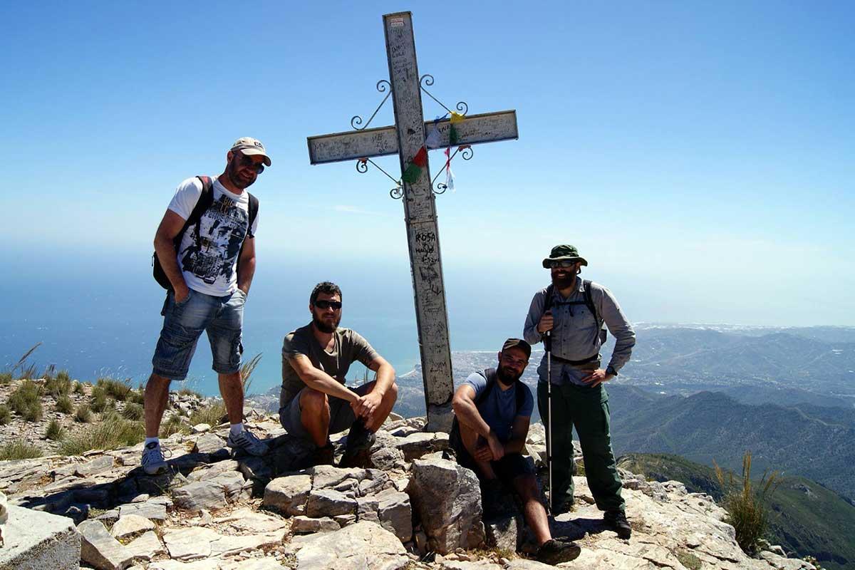 Auf dem Gipfel des Pico del Cielo