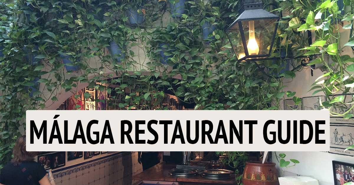 Málaga Restaurant Guide