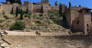 Das römische Theater in Málaga