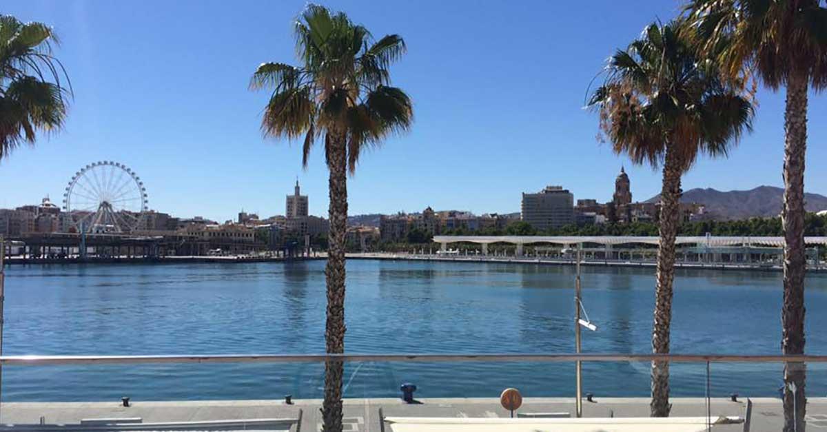 Málaga Hafen, Muelle Uno: Riesenrad.