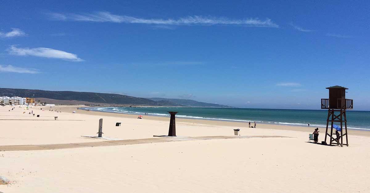 Andalusien: Der Strand von Barbate