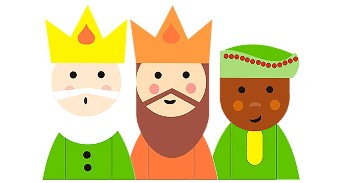Die heiligen drei Könige.
