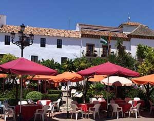 Marbella Altstadt Café