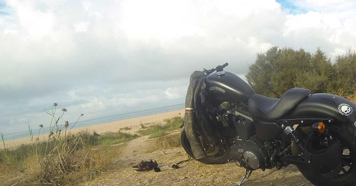 Mit dem Motorrad in Andalusien