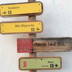 Wanderung im Rio Higueron