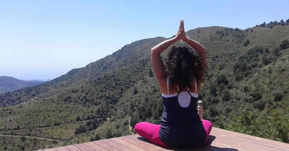 Yoga in Malaga und Andalusien.