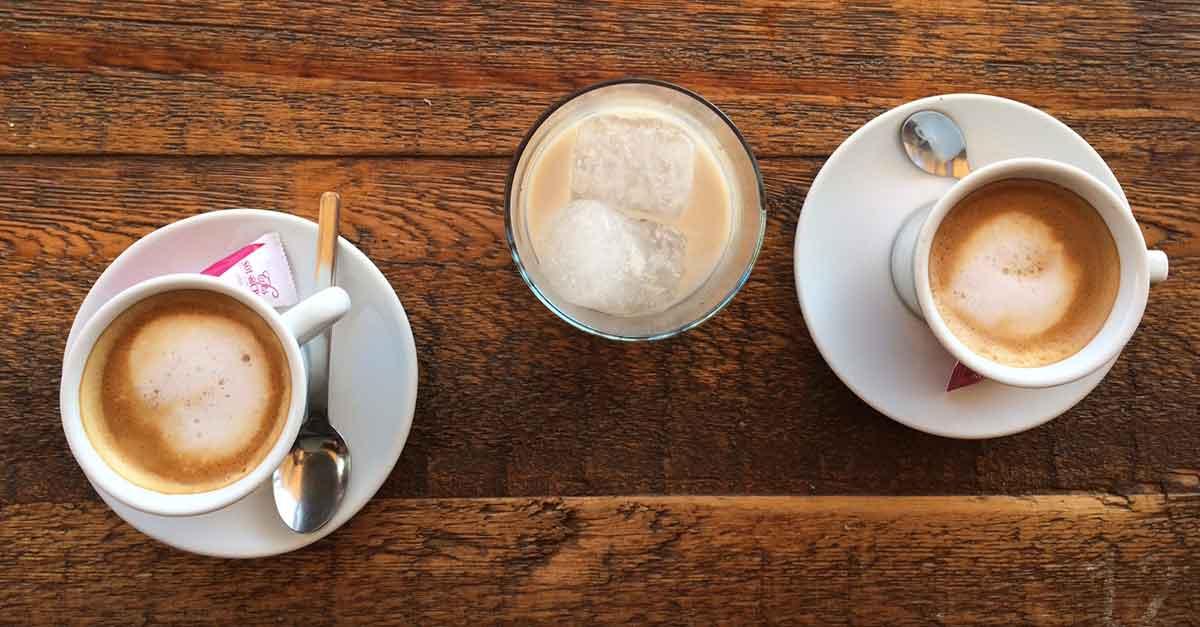 Café con leche, Milchkaffee