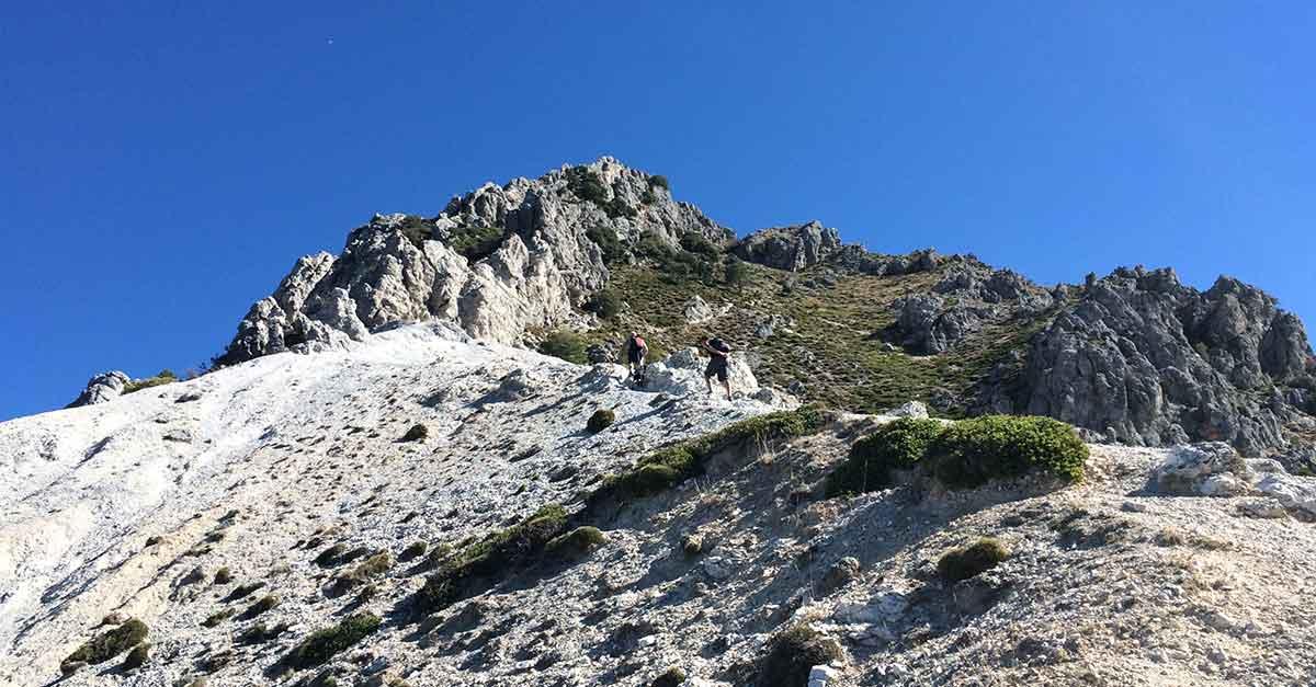 Pico Trevenque in der Sierra Nevada
