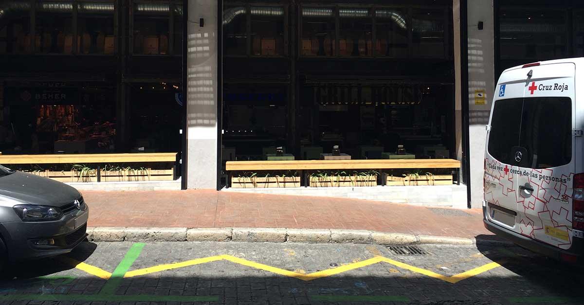 Parken und Parkplätze Malaga