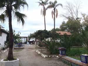 Garten der Baños del Carmen