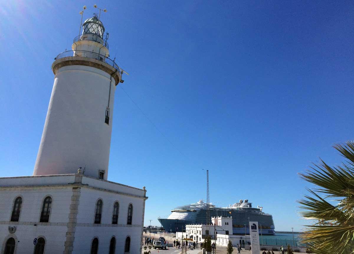 Kreuzfahrthafen Málaga