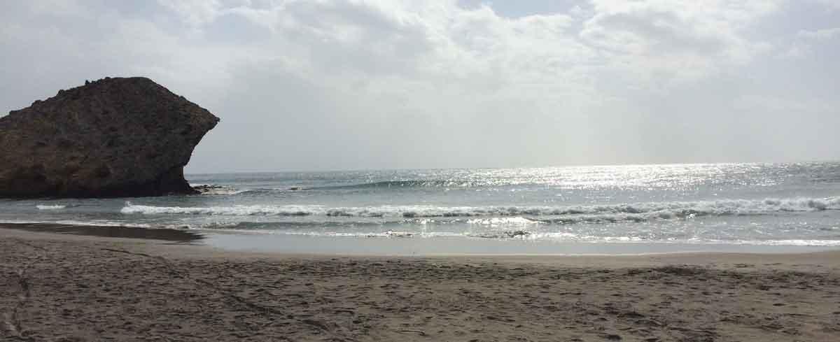 FKK am Playa de Mónsul, Südspanien
