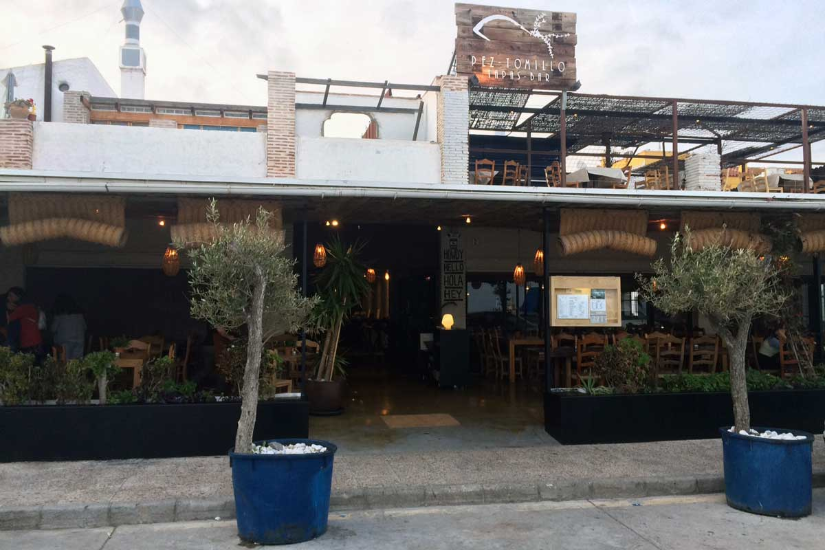 Restaurant in Malaga Pez Tomillo