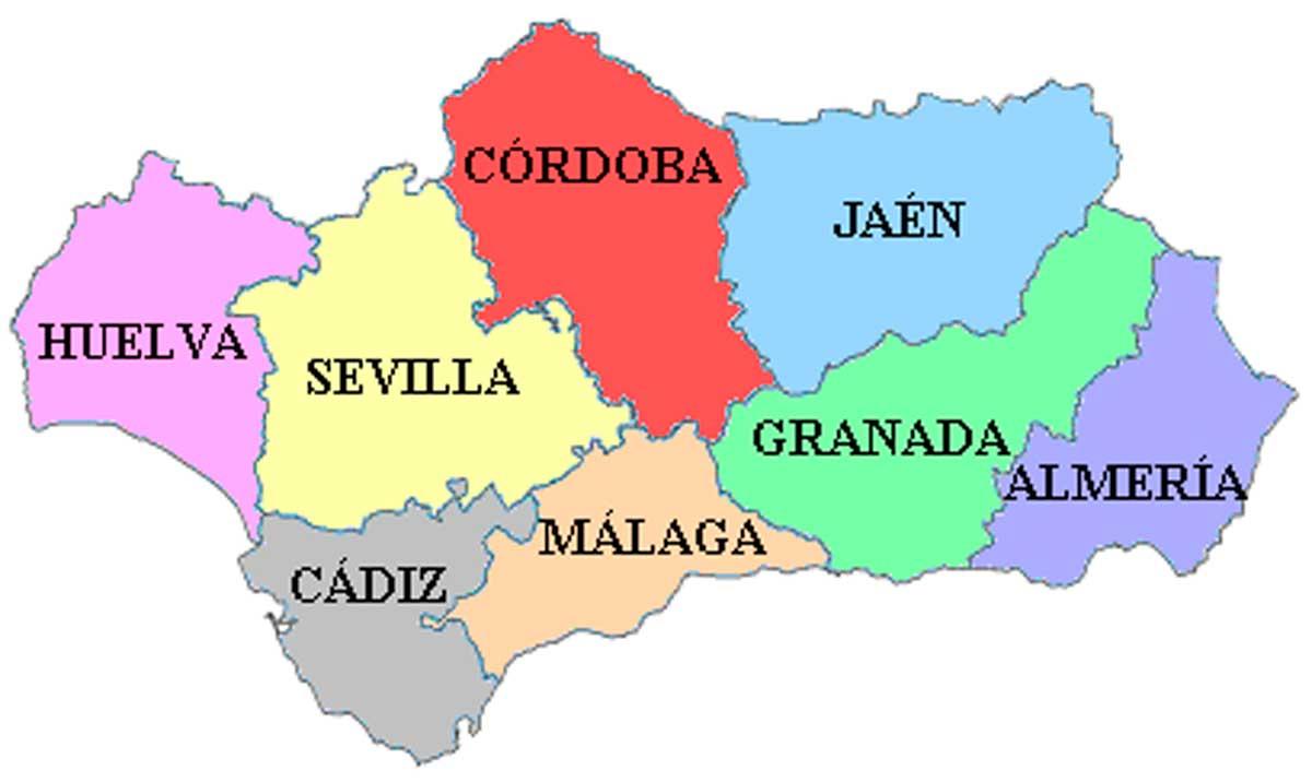 Andalusien: Provinzen