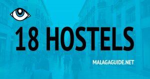 18 günstige Hostels in Malaga